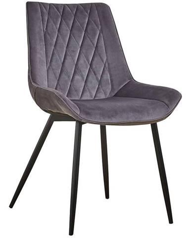 Židle Dubai Šedá