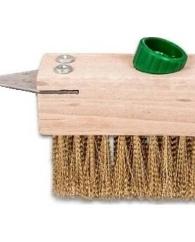 Kartáč pro čištění dlažebné kostky s destičkou