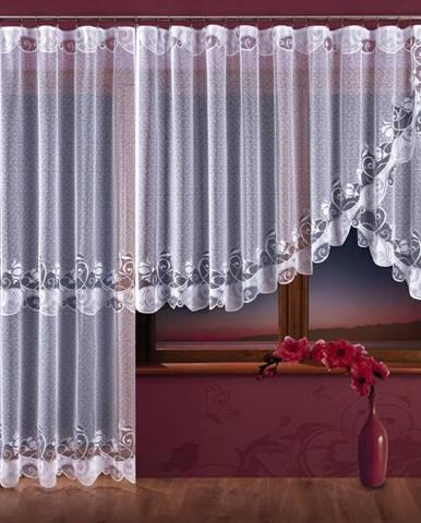 Žakárová záclona DELICJA/A728/300x150