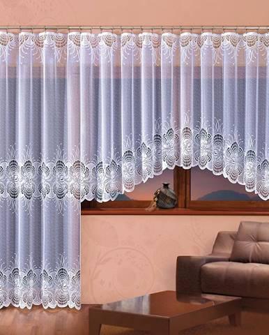 Žakárová záclona MARZANNA/A902/300X150
