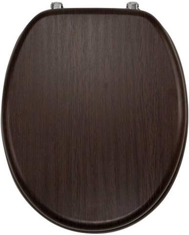 Sedátko dýhované dřevo WC/WENGE