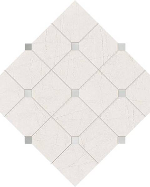 BAUMAX Mozaika Idylla White 39,8/39,8