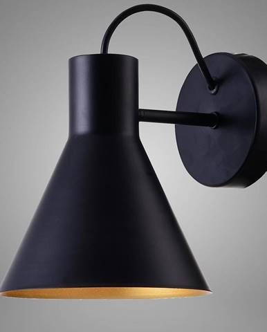 More nástěnná lampa 1x40w E27 černá mat