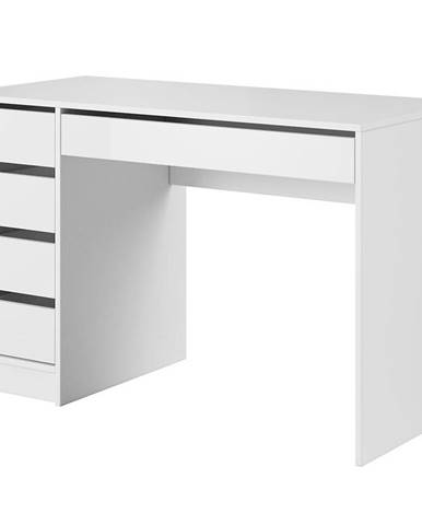 Psací Stůl Ada 120cm Bíly Lesk