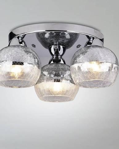 Stropní lampa Cromina Plafon kulatá 3x60w E27 Chrom