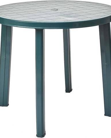 Stůl Tondo zelený
