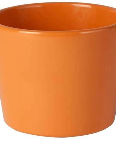 Květináč  primule oranžový 13cm 71.006.13