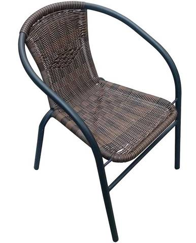 Židle ratan hnědé