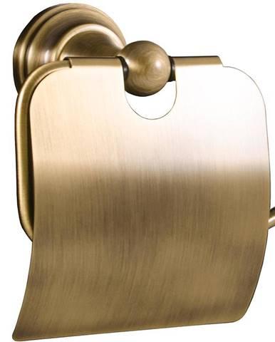 Držák toaletního papíru MORAVA, s krytem MKA0400SM