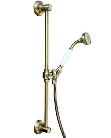 Sprchový komplet retro - stará mosaz SK0031SM