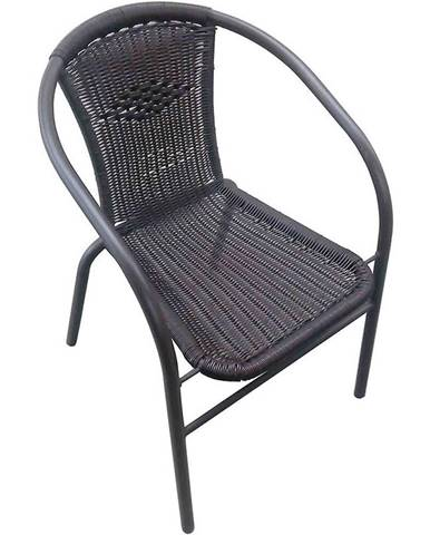 Židle ratan černé