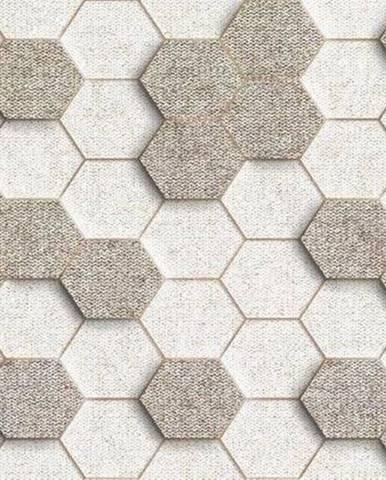 Dekor Materia Beige Hexagon 25/50