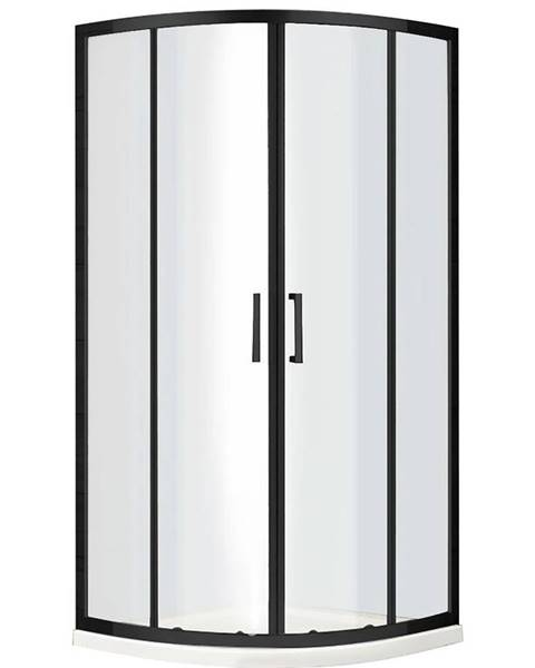 BAUMAX Sprchový kout Virtus 90x90x195 černý profil