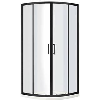 Sprchový kout Virtus 90x90x195 černý profil