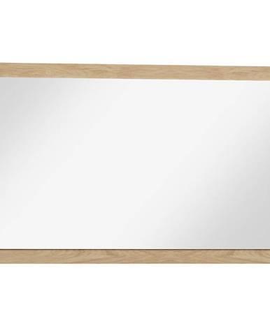 Zrcadlo Mediolan 115cm Deska Natural Hikora