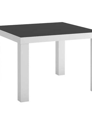 Konferenční stolek Witek 60 cm Bílá/Černá