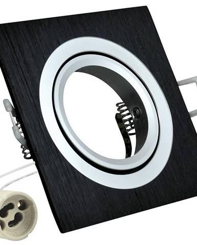 Čtvercové stropní bodové světlo Opal-IQA92B2 černé