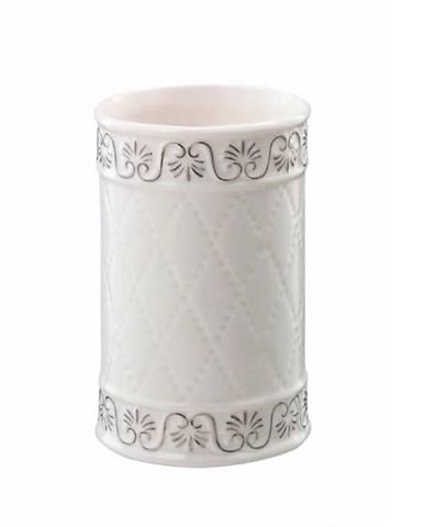 Sklenička Castello bílá