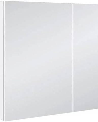 Koupelnová skříňka se zrcadlem bílá Malaga 521675 80