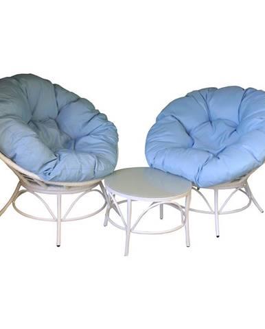 Sada nábytku 2+1 s polštáři Hawaii