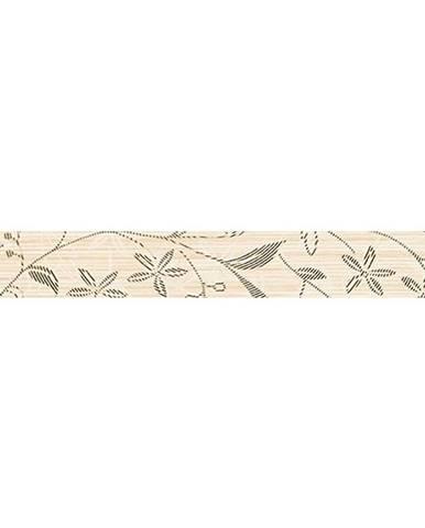 Dekorační lišta Tanaka Cream Border Flower 5/40