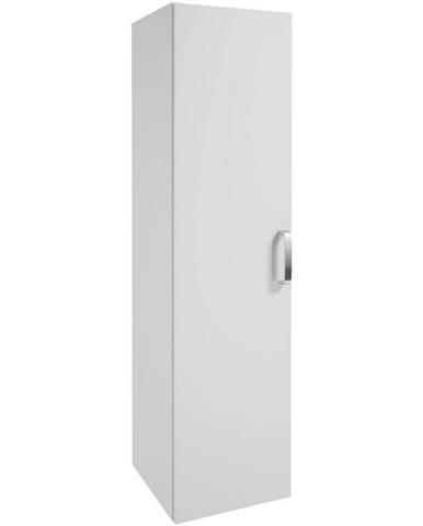 Vysoká skříňka bílá Primo 1D0S 32