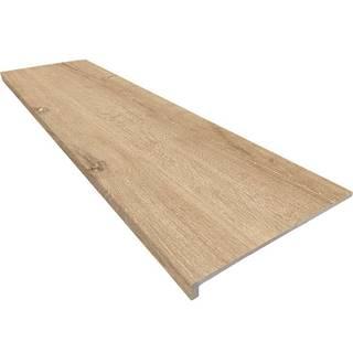 Dlažba mrazuvzdorná schodová Peldano Recto Yoho Oak 33/120