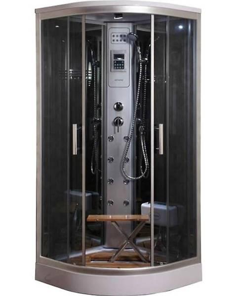 BAUMAX Sprchový box s hydromasáží Lucy y8853 90/90 4-díly