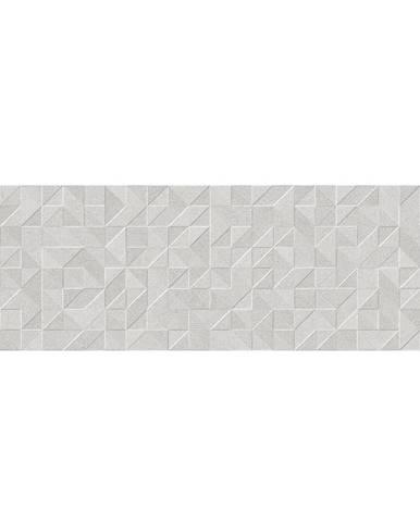 Nástěnný obklad Origami gris rekt. 25/75