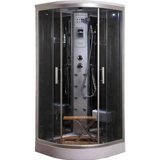 Sprchový box s hydromasáží Lucy y8853 90/90 4-díly