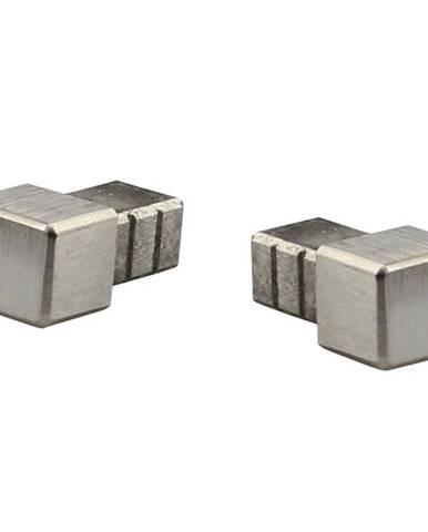 Konec pro lišty Tiletrim Corner Cap Cubinox Brushed S-steel 10 mm