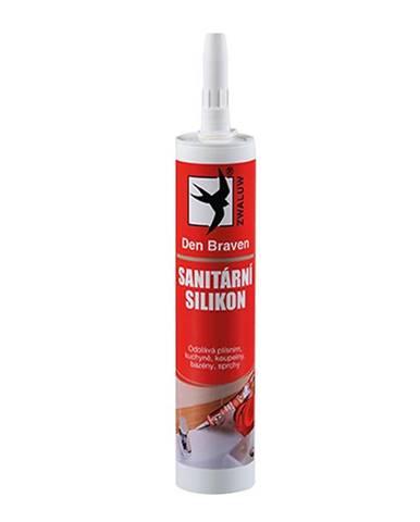 Silikon sanitární Den Braven 280 ml bílý