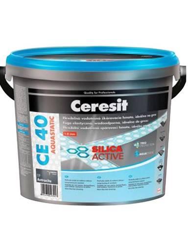 Spárovací hmota Ceresit CE 40 Aquastatic 5 kg antracite