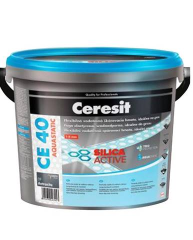 Spárovací hmota Ceresit CE 40 Aquastatic 5 kg caramel