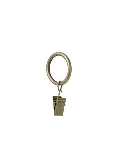 Krouzek standard se zabkou 16/19mm zlato antik 10ks