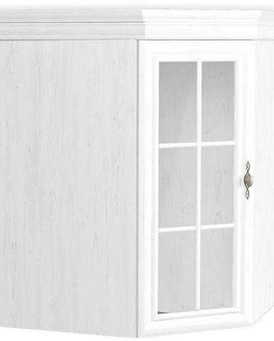 Vitrína Kora 75cm Bílá, KNN1