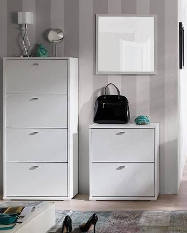 Zrcadlo Anter A01 bílé