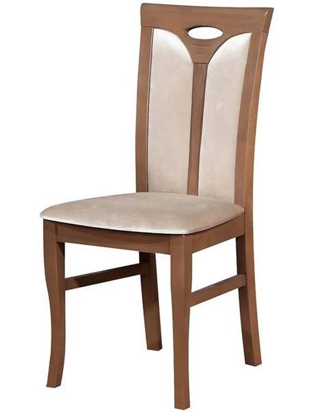 BAUMAX Židle W109 Dub Lefkas Dag134