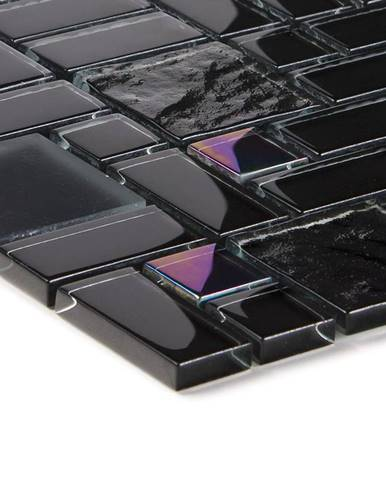 Mozaik black rainbow multiformat 53629 30x30x0,8