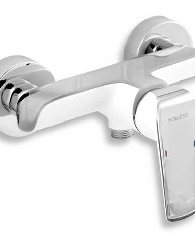 Sprchová baterie bez příslušenství Nobless Tina bílá/chrom NOVASERVIS 38061/1,1