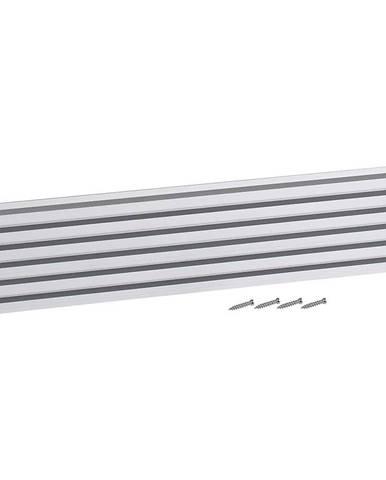 Ventilační mřížka design 90x423mm, AL, Elox Hliník