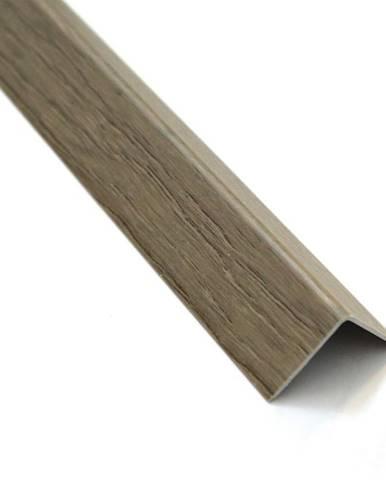 Rohový Profil Samolepící  PVC Dub Sonoma 19,5x19,5x1000