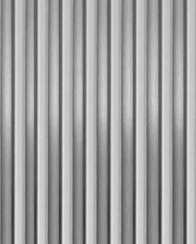 Vlnitý hliníkový plech 500x250