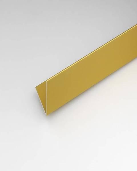 PARQUET MERCADO Rohový Profil  ALU Merc Zlatý 15x15x1000