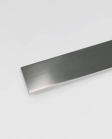 Profil plohý hliník chrom 25x1000
