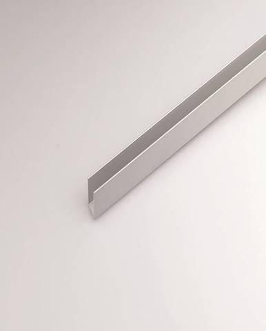 Profil U hliník stříbrný 8x8x1000