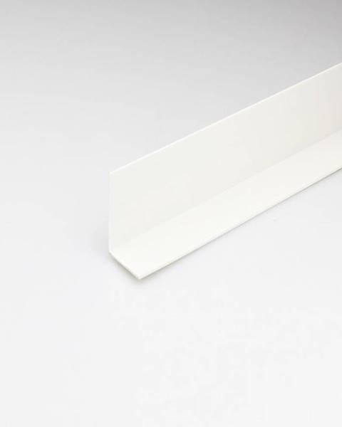 PARQUET MERCADO Rohový Profil PVC Bílý Satén 20x20x1000