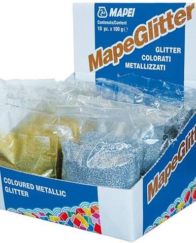 Metalické třpytky Mapeglitter zlaté 100g