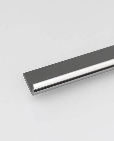 Profil ukončovací hliník chrom 18x1000