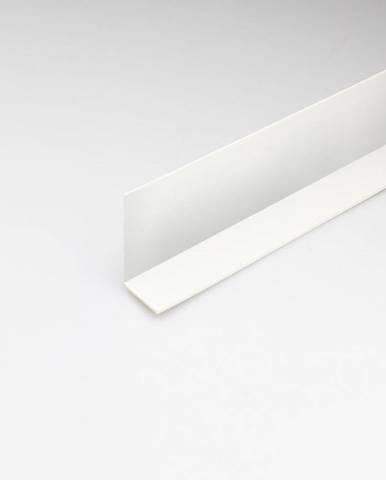 Rohový Profil PVC Bílý Satén 10x10x1000